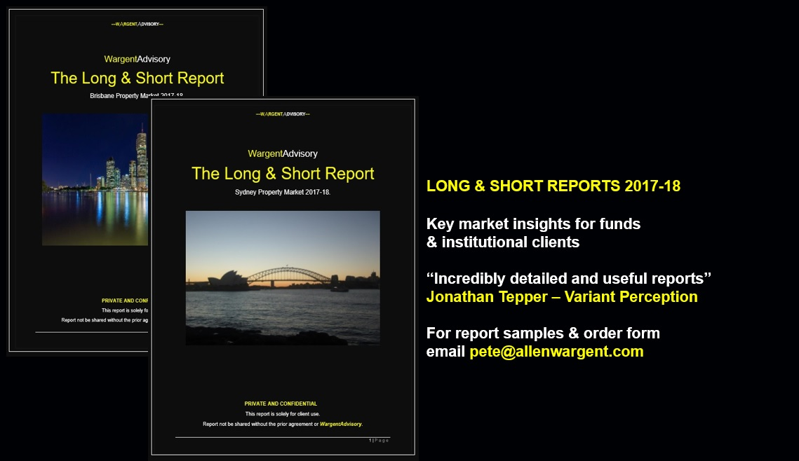 LONG & SHORT REPORTS